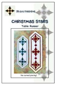 Christmas Stars JB Quilt Designs