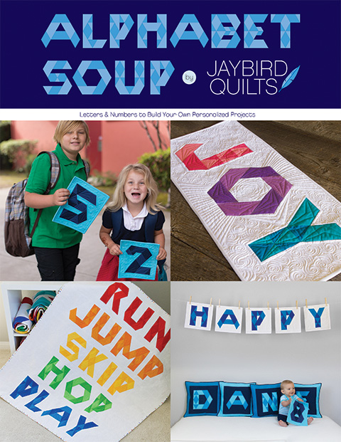 Alphabet Soup Book Jaybird Quilts