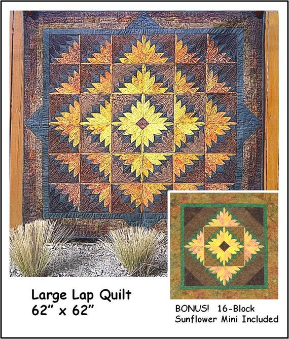 Sunflower Power JB Quilt Designs