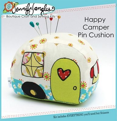 Happy Camper Pin Cushion
