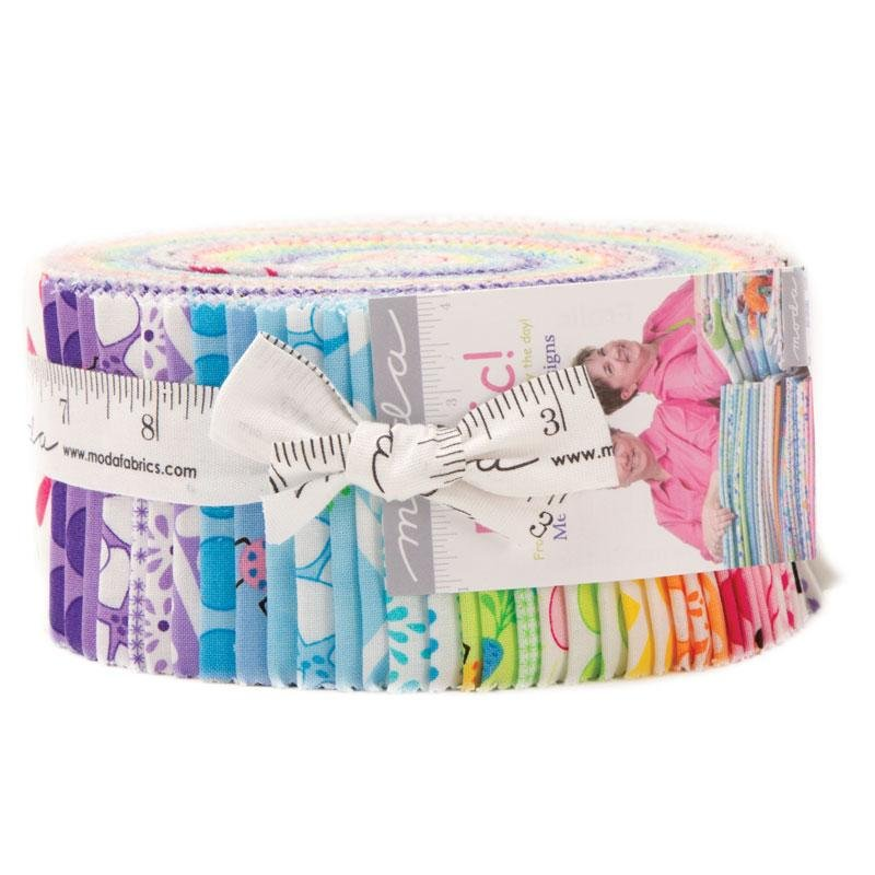 Me and My Sister Designs for Moda Fabrics Frolic Jelly Roll