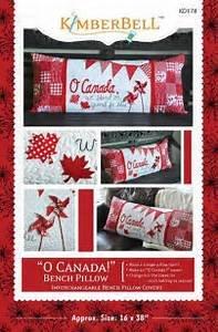 O Canada Bench Pillow
