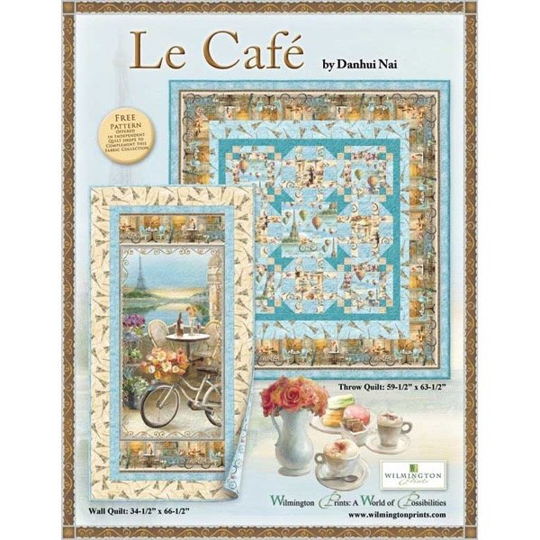Le Cafe Pattern (download)
