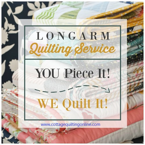 Edge to Edge Quilting Service Mail In Service