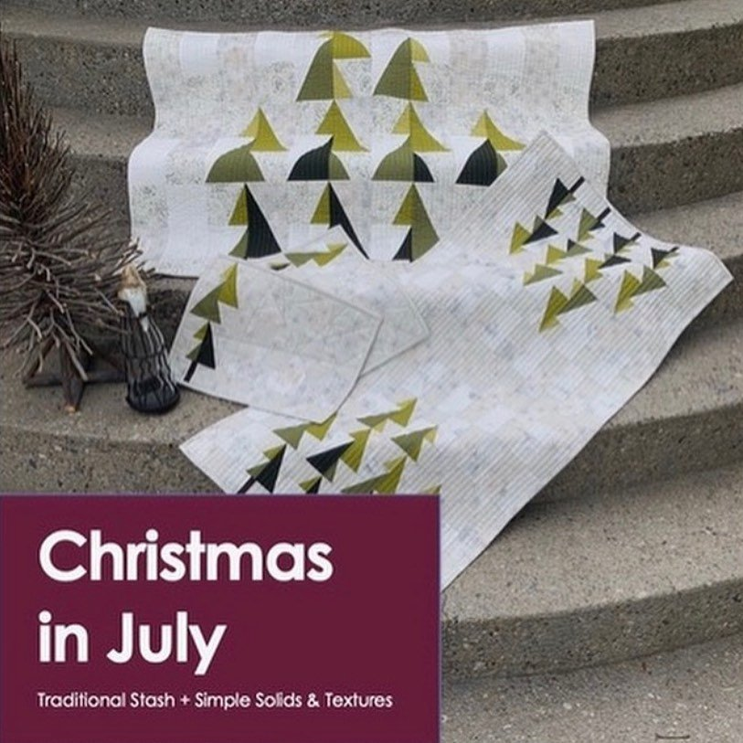 Modern Blended - Christmas in July Pattern