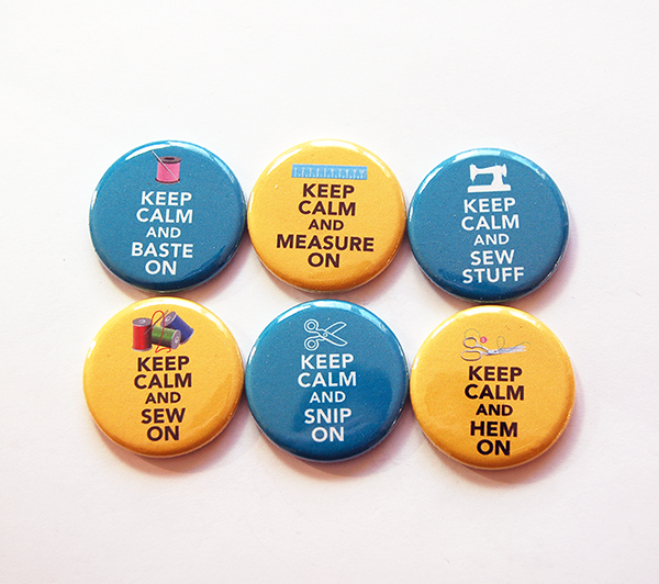 Magnets - Keep Calm (6)