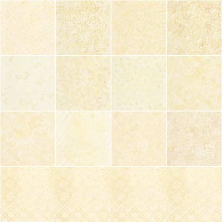 5in Squares Tonga Batik Pearl 40pcs/pack