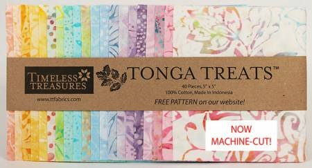 5in Squares Tonga Batik Unicorn 40pcs/pack