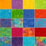 5in Squares Tonga Batik Zing 40pcs/pack