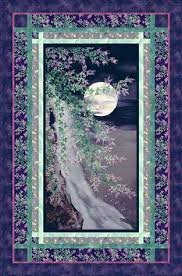 Moons over Waterfall Wall Hanging