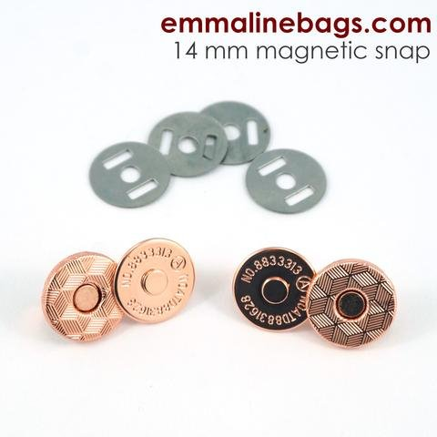Emmaline Magnetic Snap 9/16 14mm BRASS