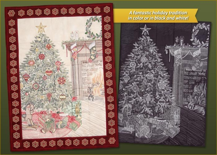 Night before Christmas Embroidery Pattern