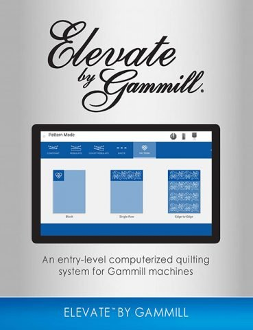 Elevate Quitling System Gammill Brochure
