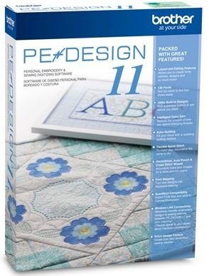 Brother PE-DESIGN 11 Personal Embroidery and Sewing Digitizing Software