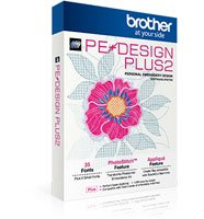 Brother PE Design Plus 2 Basic Embroidery Software