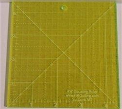 Glow Edge Acrylic Squaring Ruler 4 1/2 inch
