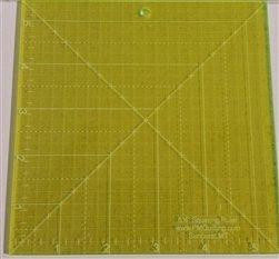 Glow Edge Acrylic Squaring Ruler 5 1/2 inch