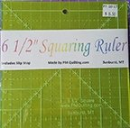 Glow Edge Acrylic Squaring Ruler 6 1/2 inch