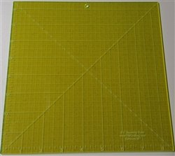 Glow Edge Acrylic Squaring Ruler 8 1/2 inch