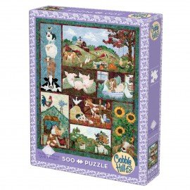 Back on the Farm 500p Puzzle