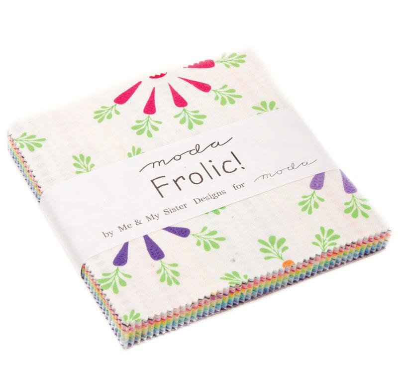 Me and My Sister Designs for Moda Fabrics Frolic Charm Pack