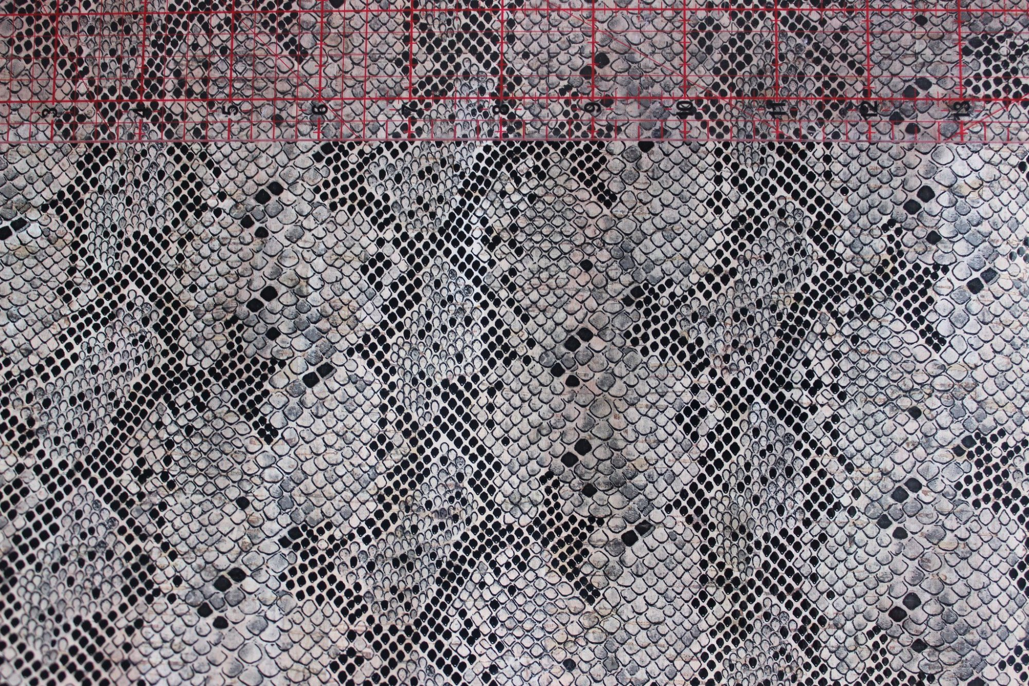 Printed Python Cork Fabric (18x18)