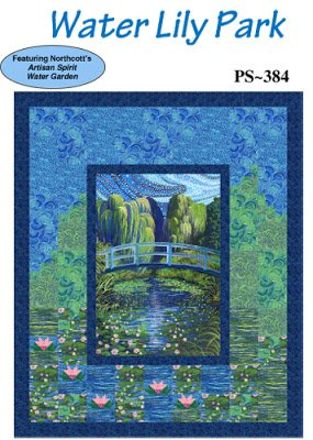 Waterlily Park Quilt Sample