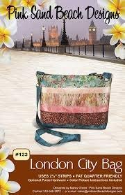 Pink Sands Beach London City Bag