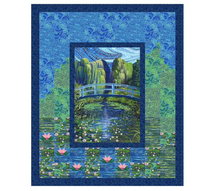 Artisan Spirit Water Garden - Water Lily Park Pattern