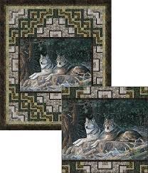 Resting Point Wolves Pattern - PTN2205
