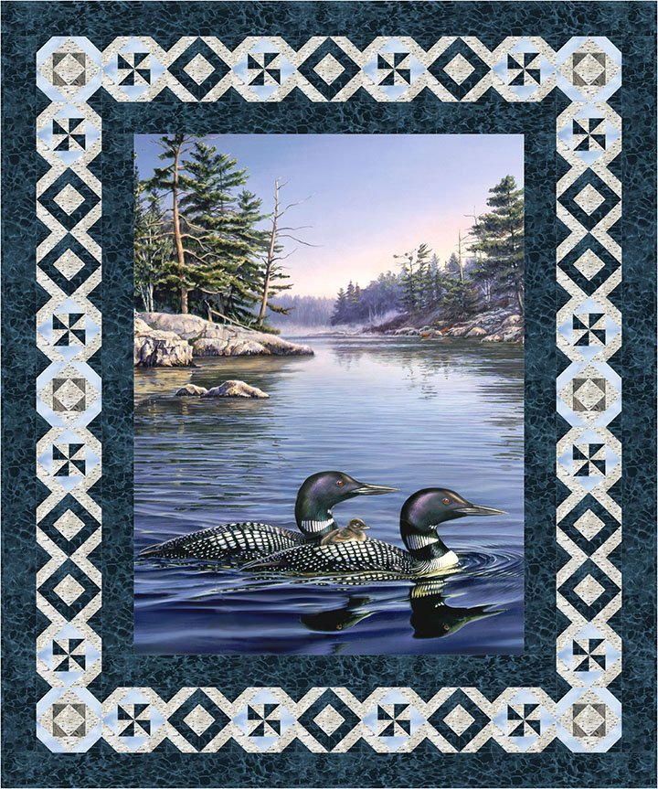Naturescapes Loon Lake Pattern PTN2214