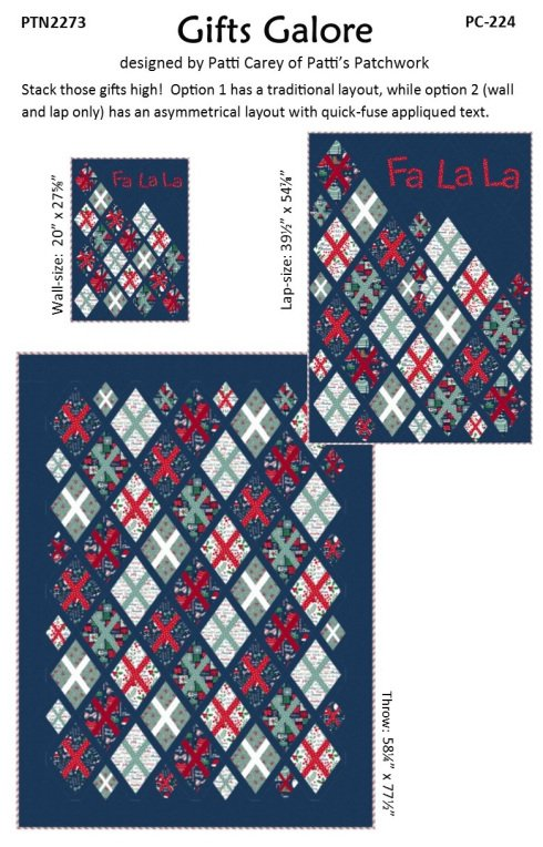 Gifts Galore Lap Quilt Kit