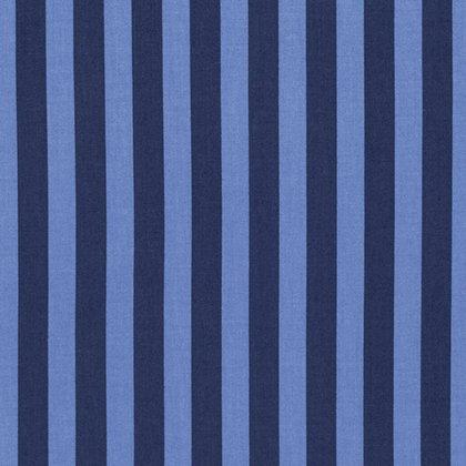 Tula Pink - Tabby Road - Tent Stripe - Blue Bird
