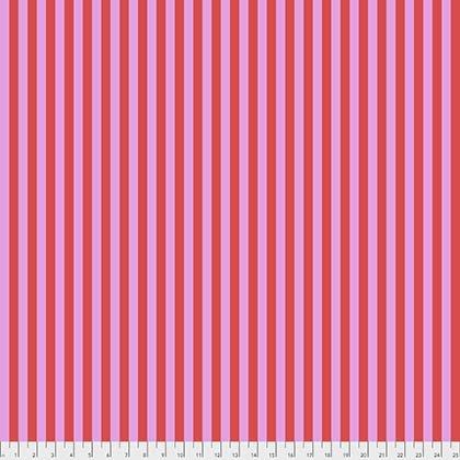 Tula Pink - ALL STARS - Tent Stripe - Poppy