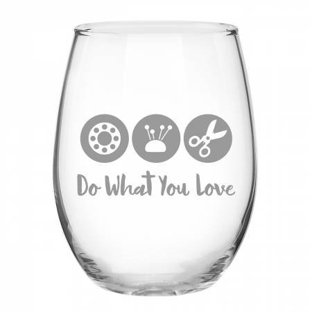Quilt Happy - Do What You Love Glass