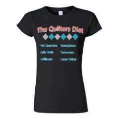 Quilters Diet T-Shirt