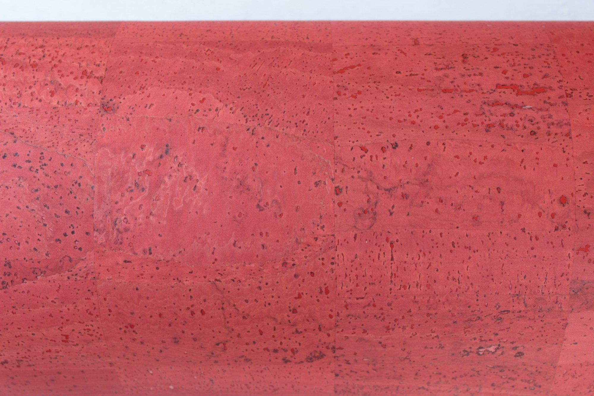 Red Cork Fabric (18x36)