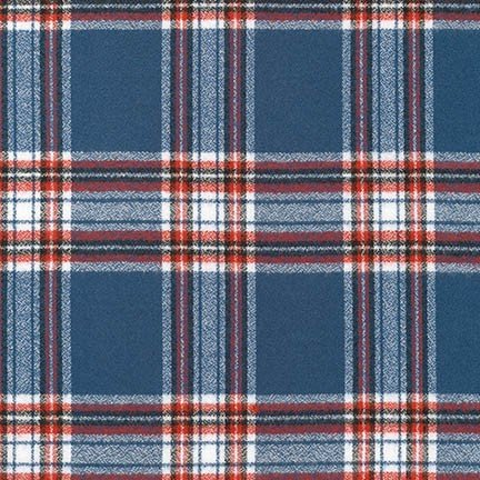 Robert Kaufman Mammoth Flannel 16420 Americana