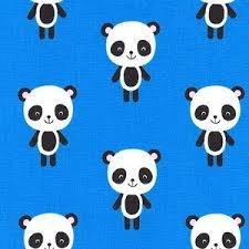 Urban Zoologie Blue Panda