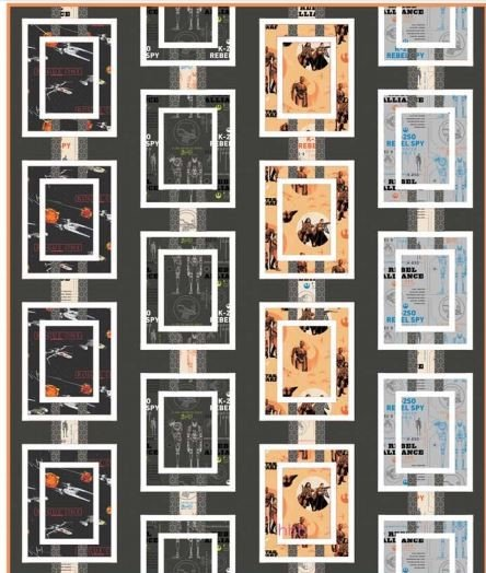 Rogue One Quilt Kit
