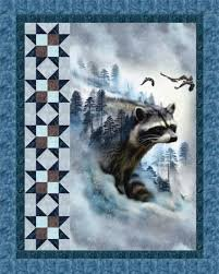 Raccoon Ravine Pattern (download)