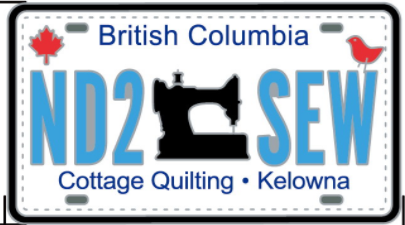 Row by Row 2017 Cottage Quilting Pin