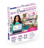 Brother BES® 4 Dream Edition® Embroidery Lettering Software
