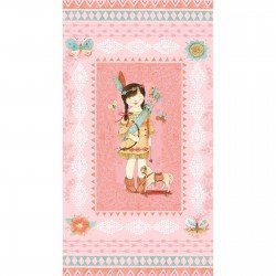 Lucie Crovatto Dream Catcher Flannel Panel