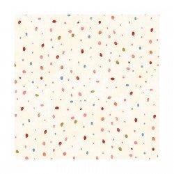 Lucie Crovatto Dream Catcher Flannel Cream Dot