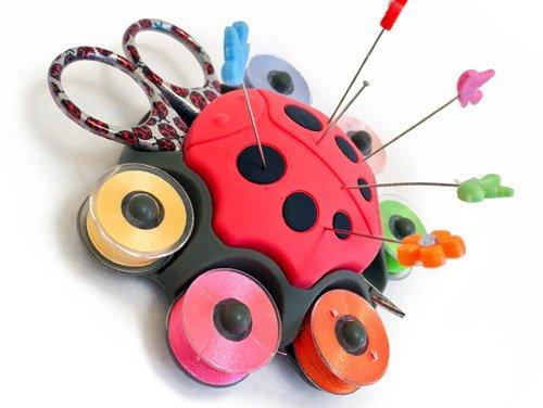 Ladybug Sewing Caddy