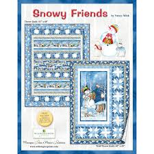 Snowy Friends Kit - By Nancy Mink