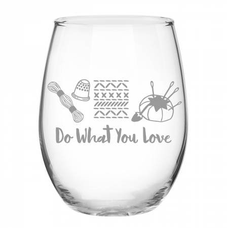 Stitch Happy - Do What You Love Glass