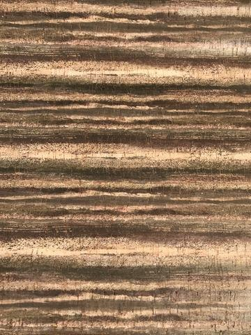 Printed Stripes Cork Fabric (18x18)