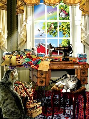 The Sewing Room Puzzle - 1000pc
